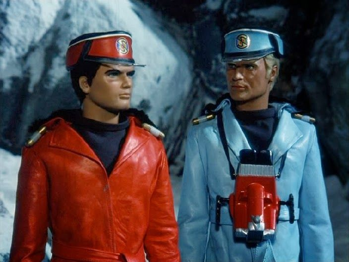Captain Scarlet and the Mysterons.