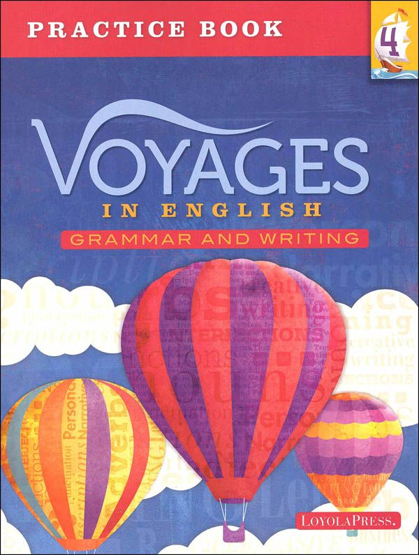 Voyages In English 2018 Grade 4 Practice Book 3rd 4th Grade