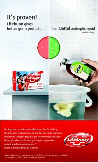 Competition...#advertisement,#personalcare,#rivalries,#printad,