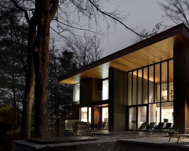 Blouin Tardif Architectes | Réalisations |  Mont St-Hilaire | Fenestration | Windows | Light | Wood