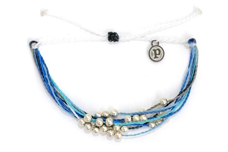 PuraVida 1% For The Planet Platinum Bracelet