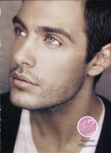 Kostas Martakis greek singer model. Those eyes!!!