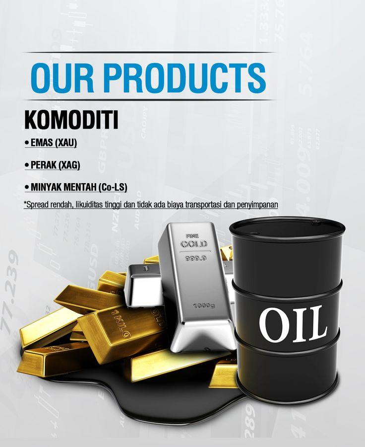 Komoditi. Merupakan produk salah satu produk favorite nasabah kami. Emas, Oil dan lainnya. Cek website kami untuk info lebih lanjut atau coba demonya di http://demoreg.imfutures.com/index.php?idmkt=20120086