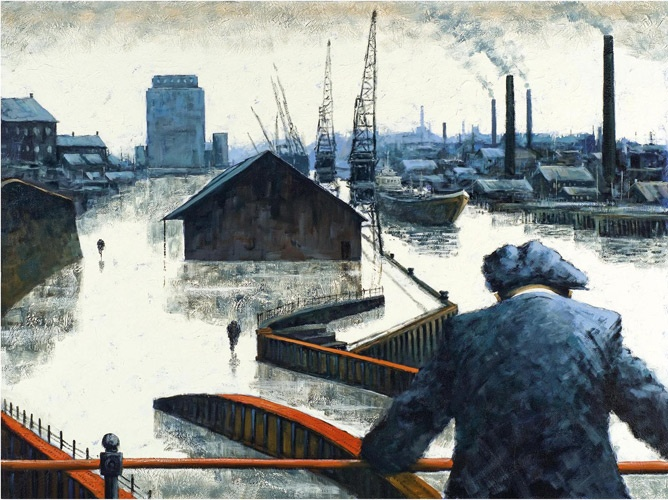 Limited Edition Prints :: Alexander Millar :: When the Boat Comes In - Artisan Galleries