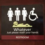 A theatre in New Zealand just made the best all-gender restroom sign