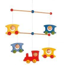 Mobile Vláčik - Mobile - Hračky pre bábätká - Hračky a Detský nábytok- Detský Sen - Maxus