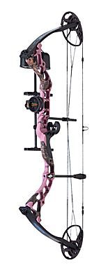Diamond Infinite Edge Compound Bow Package - Pink Blaze | Bass Pro Shops
