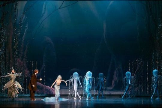 Current fascination: Pieni Merenneito//Finnish National Ballet  Composed by Tuomas Kantelinen, Choreographed by Kenneth Greve