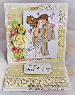 CraftyNatalie's Blog!: LOTV Wedding easle