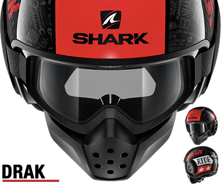 SHARK DRAK | Decoração TRIBUTE #shark #lusomotos #capacete #tribute #estrada #andardemoto #estilodevida #fazoquegostas