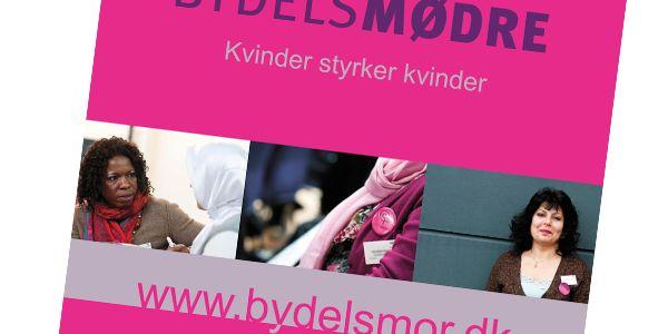Grafisk design af roll up banner til Fonden for Socialt Ansvar / Bydelsmødre