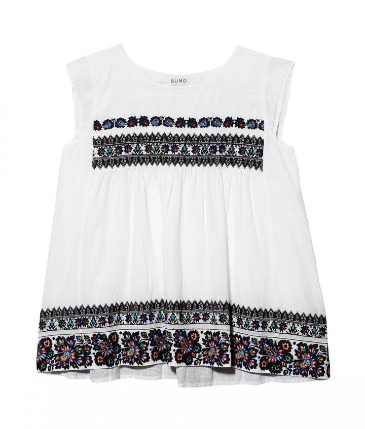 "Pin for Later: 13 Kleidungsstücke, um den mexikanischen ""Cinco de Mayo"" zu feiern Suno Embroidered Top Suno Embroidered Top ($350)"