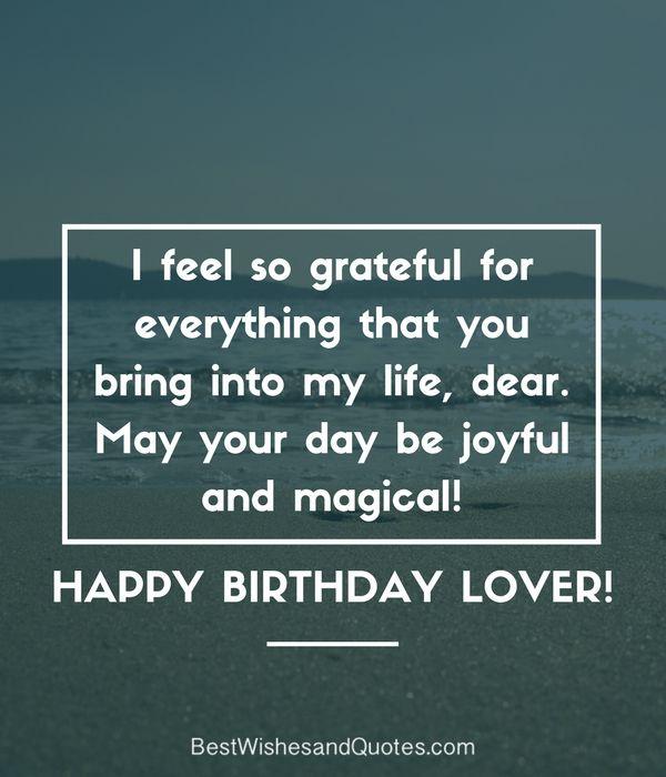 25+ Best Romantic Birthday Quotes On Pinterest