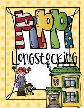 Awesome Pippi Longstocking Unit!