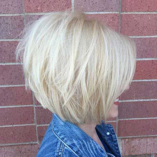 30+ Layered Bobs 2015 - 2016   Bob Hairstyles 2015 - Short Hairstyles for Women