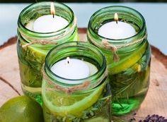 Cómo hacer velas líquidas y sólidas para ahuyentar mosquitos