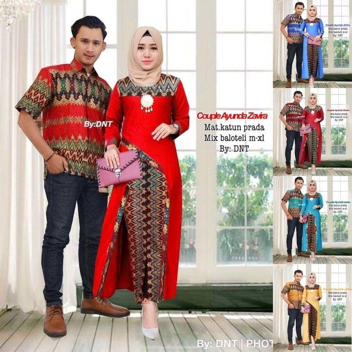 Baju Batik Couple Terbaru