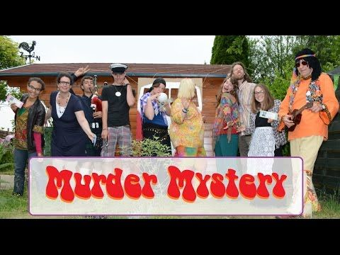 """Murder Mystery Party """"Love, Peace & Murder"""" (Dutch with English Sub!) - YouTube"""