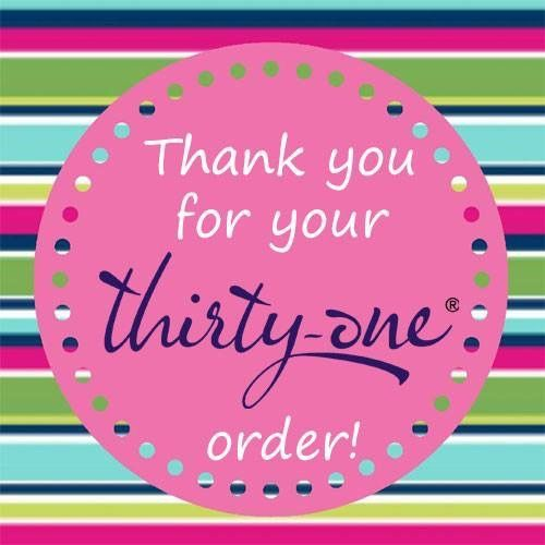 Thirty-One Thank You #TOTEallyAddicted www.TOTEallyAddicted.com #ThirtyOne #ThankYou #ThirtyOneThankYou