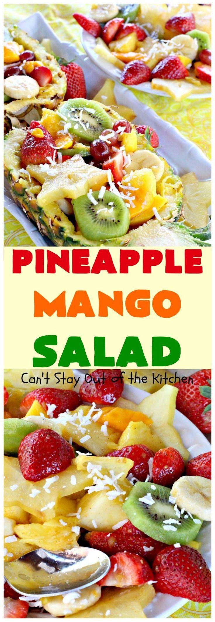Pineapple Mango Salad   B.