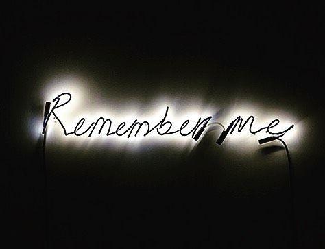 Remember me.💀