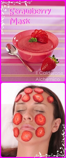 strawberry scurb mask