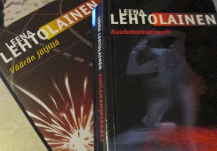 Leena Lehtolainen : Maria Kallio -sarja  KOVAKANTISINA!
