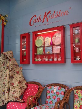 Cath Kidston. I stopped at her store in Brighton, England, a highlight of my trip.