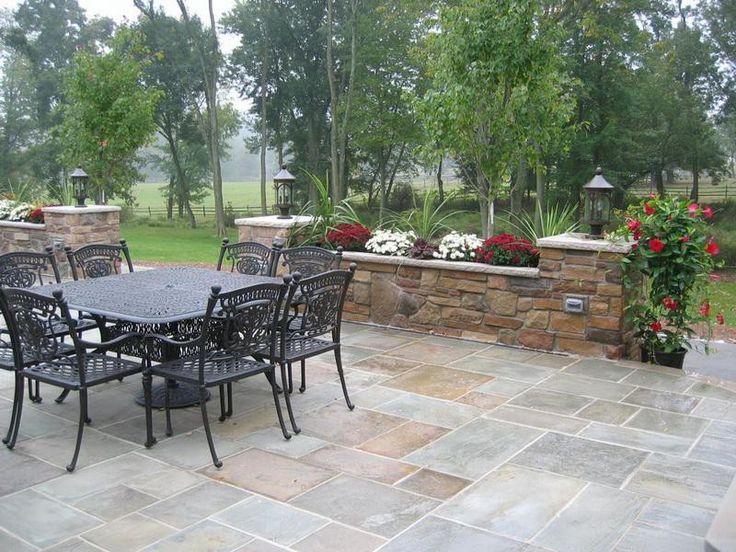 Elegant Build Stone Patio Design Ideas ~ Http://lovelybuilding.com/get