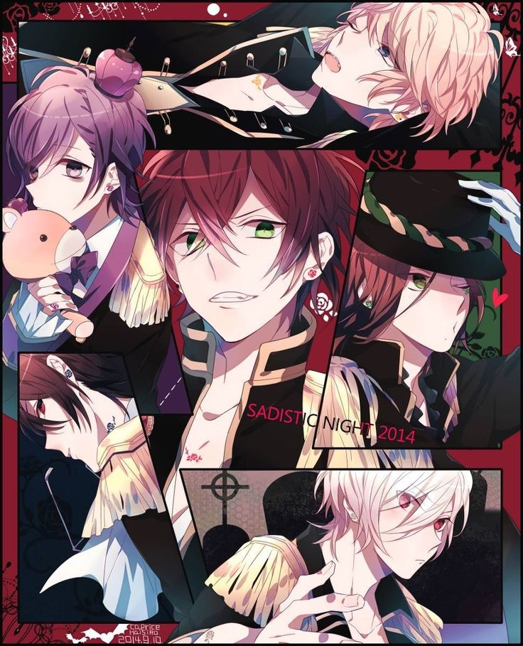 Hot or cool (With images) Diabolik lovers, Anime
