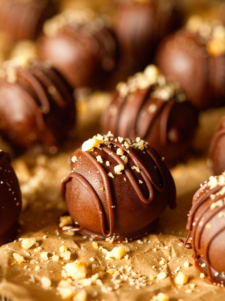 Nutella Truffles: 14 oz semisweet/dark chocolate, 1/2 cup Nutella, 1/3 ...