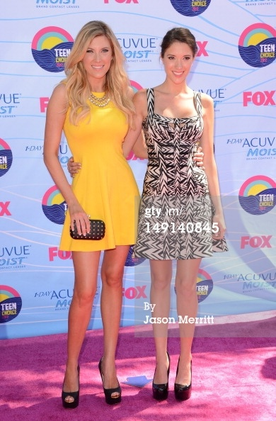 News Photo: Elle Fowler and Blair Fowler arrive at the…