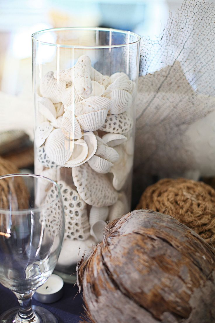 54 best seashell vase images on pinterest shells clam shells 50 best home decoration ideas for summer vase centerpiecesshell reviewsmspy