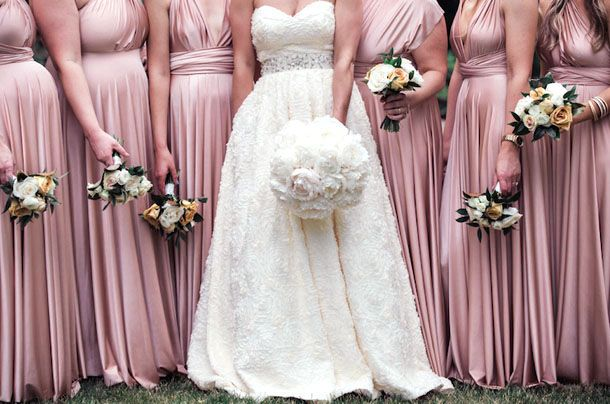 "Модный цвет свадьбы ""Пыльная роза"""