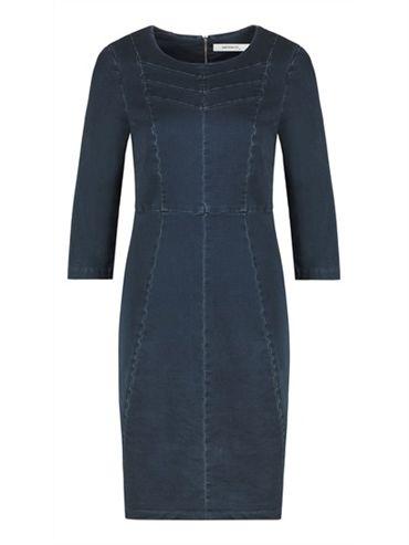 Sandwich Clean Denim Dress in indigo