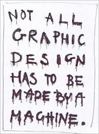 Image result for stefan sagmeister typography  a good point with a decent design.
