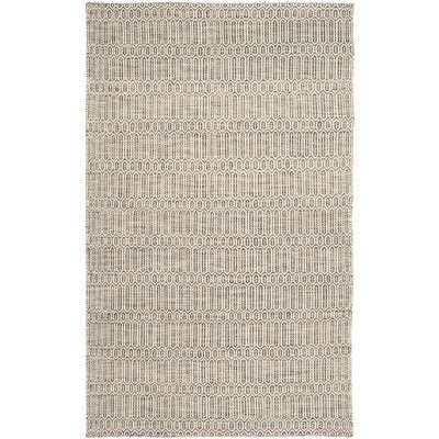 "Beachcrest Home Allenstown Grey Contemporary Rug Rug Size: 8'-9"" X 12'"