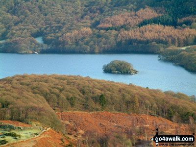 Peel Island and Coniston Water