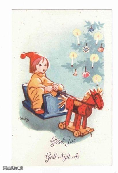 Martta Wendelin (1893-1986) - Vintage Chritmas Card