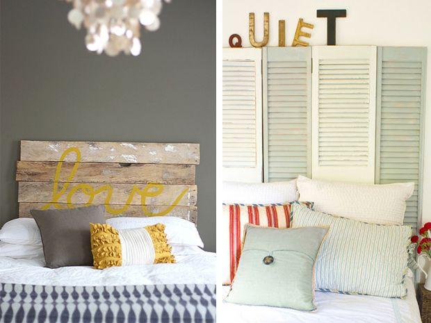 Oltre 25 fantastiche idee su fai da te in camera da letto - Testiere del letto fai da te ...