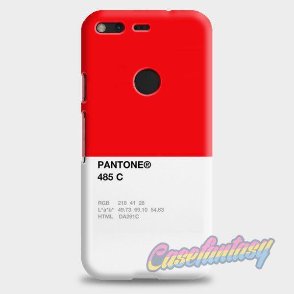 Pantone 485 C Google Pixel Case | casefantasy