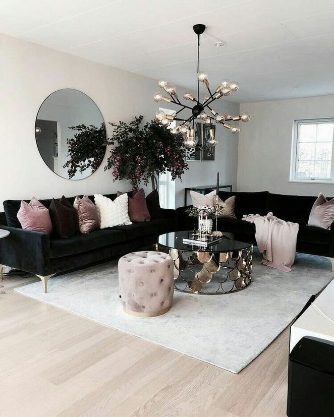 50 The Demise Of Black Furniture Living Room Cozy Apartment Decor Contemporary Living Room Furniture Living Room Decor Cozy