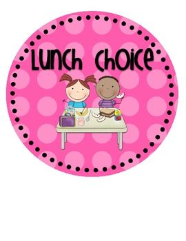 Here is a cute way to take your lunch count each day! You can hang this in your classroom and students will make their lunch choice as part of the morning routine. I love to use this in my classroom because it's a simple way to do the attendance, too!