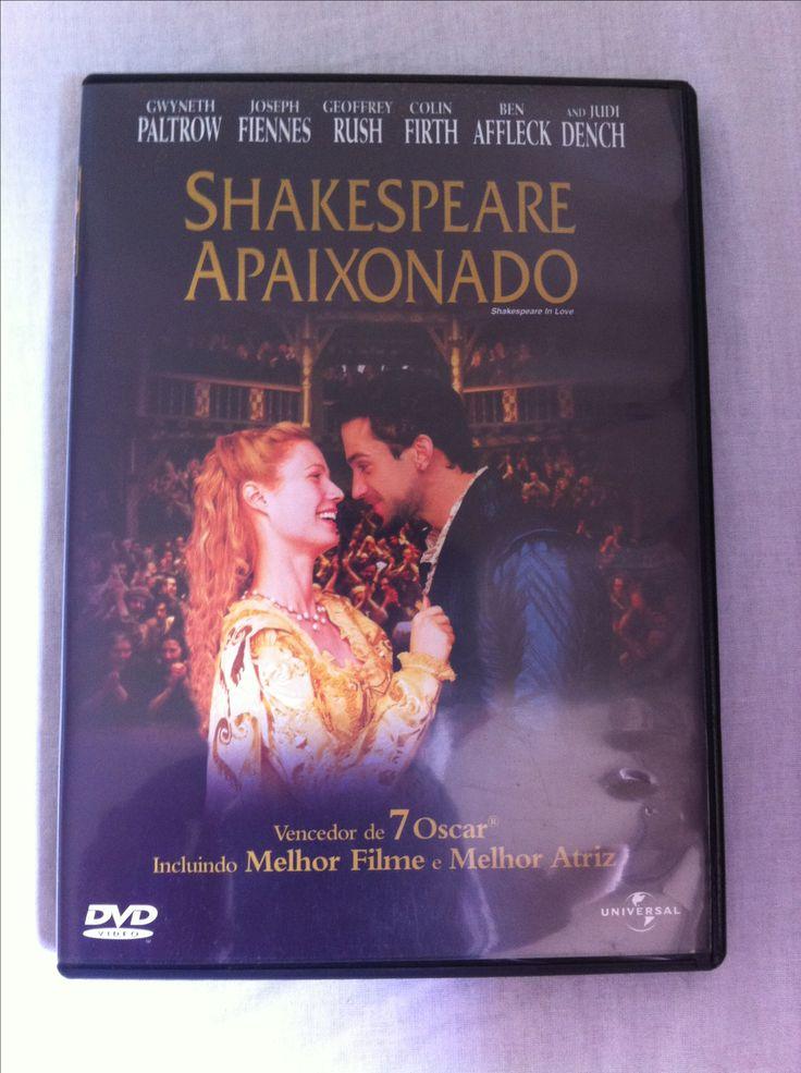 DVD Shakespeare Apaixonado