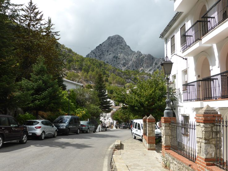 Grazalema - small town in the mountains Sierra de Grazalema