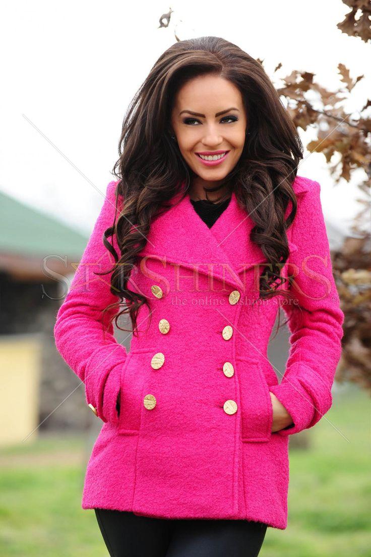 LaDonna Natural Concept Pink Coat