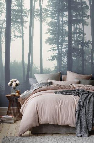 Déco murale panoramique forêt