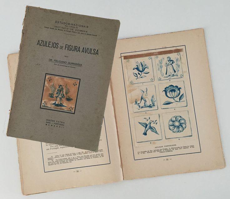 """Feliciano Guimarães   """"Azulejos de Figura Avulsa""""   1932 #Azulejo #AzulejoDoMês #AzulejoOfTheMonth"""