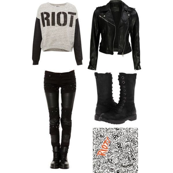 """RIOT!"" by metal-head on Polyvore"