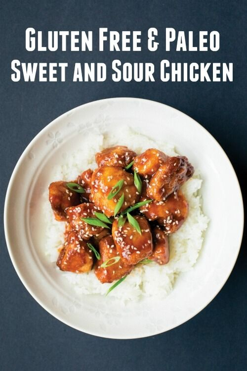 Paleo Sweet and Sour Chicken - Gluten-Free Chinese food recipe from the book Paleo Takeout: Restaurant Favorites Without the Junk + GIVEAWAY for Paleo Takeout Book - DontMesswithMama.com